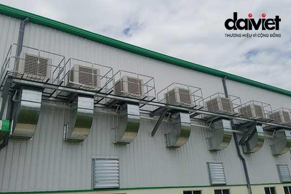 Đại Việt trúng thầu cung cấp và thi công hệ thống máy làm mát cho công ty CP Kỹ Thuật Phúc Khang Hưng