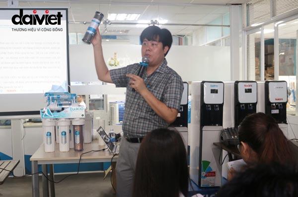 Đại Việt tổ chức đào tạo, giới thiệu sản phẩm máy lọc nước cho nhân viên