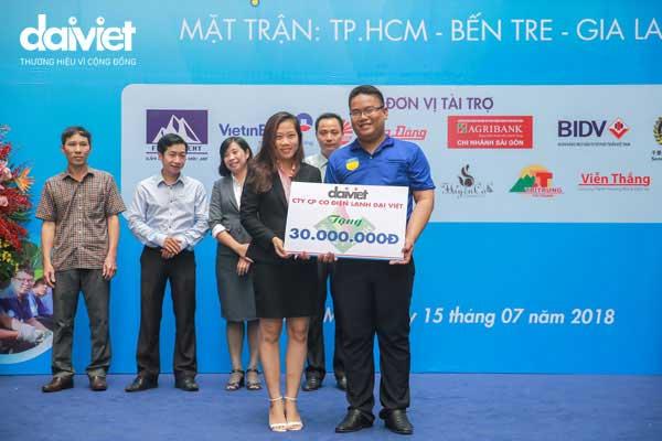 Đại Việt tài trợ chiến dịch Mùa hè xanh trường ĐH Hutech 2018