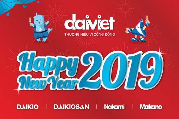 Đại Việt chúc mừng năm mới 2019
