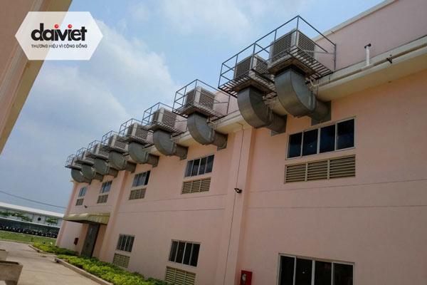 Đại Việt trúng thầu lắp đặt hệ thống máy làm mát cho công ty TNHH Sản Xuất Cơ Khí & Thương Mại Hải Hà