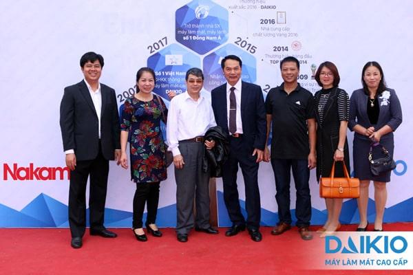 Họp mặt Gia đình đại lý Daikio và Nakami Bắc Ninh, Bắc Giang