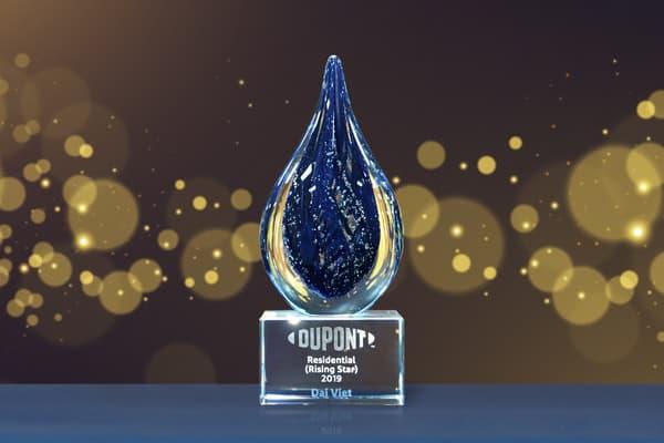 Đại Việt vinh dự nhận giải thưởng Đối tác triển vọng của Dupont (DOW)
