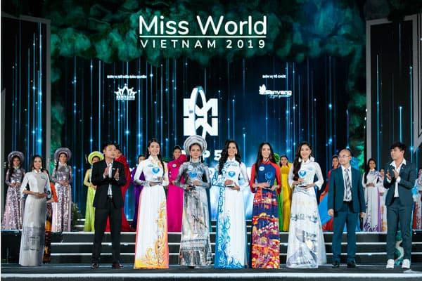 Đại Việt tham dự CK Miss World Việt Nam 2019 với tư cách NTT chính chuỗi dự án Nhân Ái