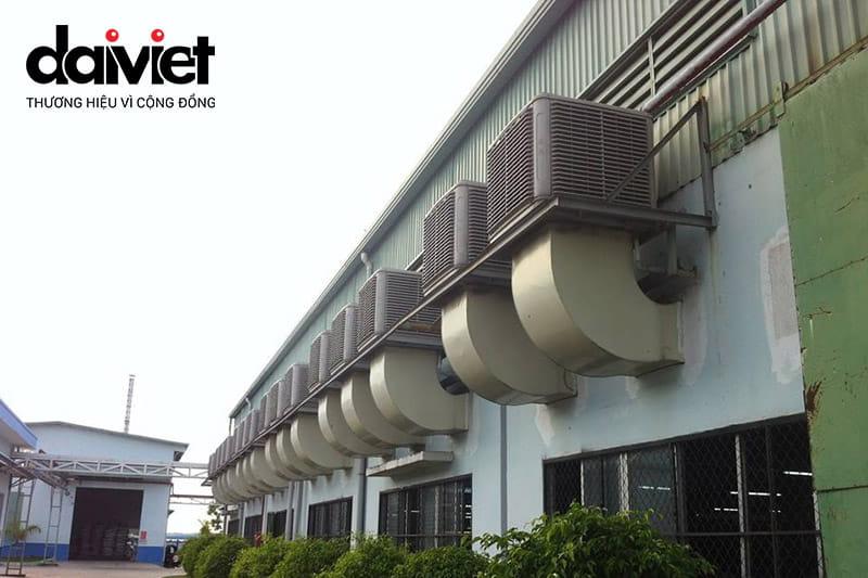 Trúng thầu cung cấp và thi công hệ thống máy làm mát cho công ty TNHH Trang trí nội thất Ca Sa