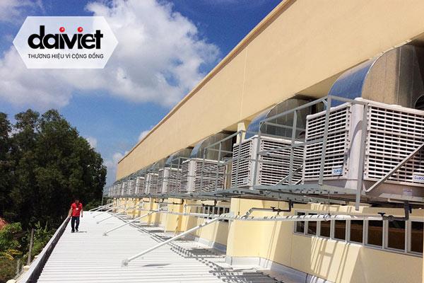 Trúng thầu cung cấp và thi công máy làm mát công nghiệp cho công ty CP LONGWAY