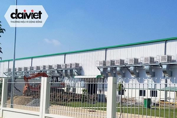 Trúng thầu cung cấp và thi công hệ thống máy làm mát cho công ty TNHH Mensa Industries (khu vực canteen)