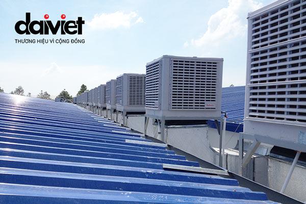 Trúng thầu cung cấp và thi công hệ thống máy làm mát cho công ty Mộc Hòa