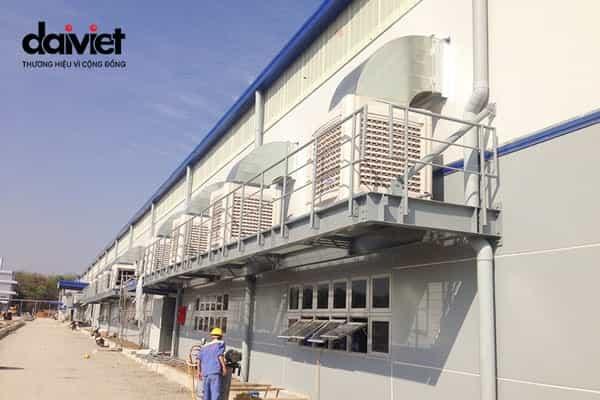 Trúng thầu cung cấp và thi công hệ thống máy làm mát cho công ty TNHH cơ điện Samwa Tek