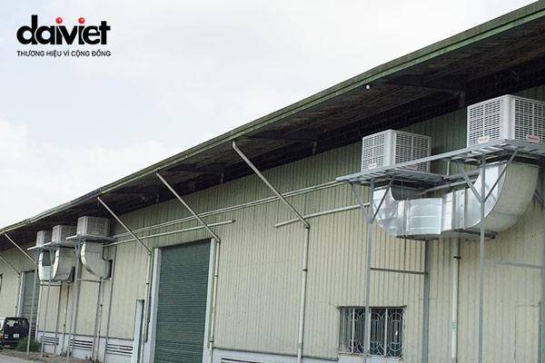 Trúng thầu cung cấp và lắp đặt hệ thống máy làm mát hiệu suất cao cho công ty TNHH Uyên Phát