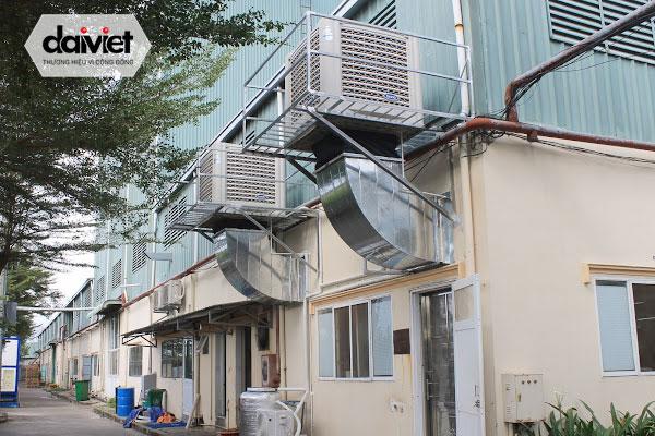Trúng thầu cung cấp và thi công hệ thống máy làm mát cho công ty Vĩnh Phát (lần 2)