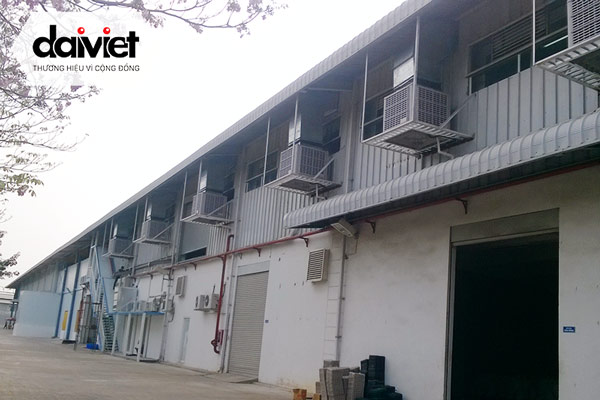Trúng thầu cung cấp và thi công hệ thống máy làm mát cho xưởng may JOU