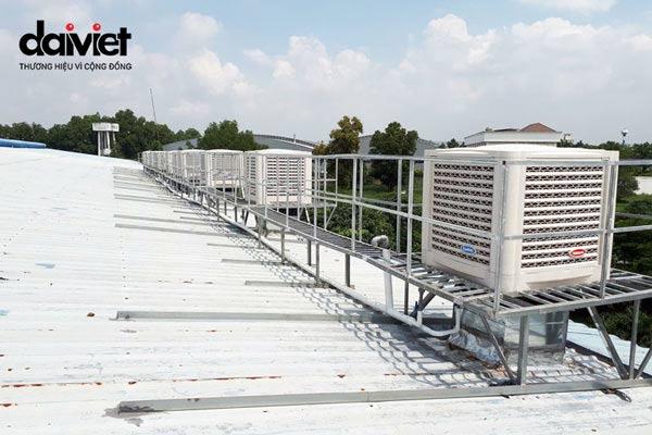 Trúng thầu cung cấp và thi công hệ thống máy làm mát công nghiệp cho công ty Đồng Quang