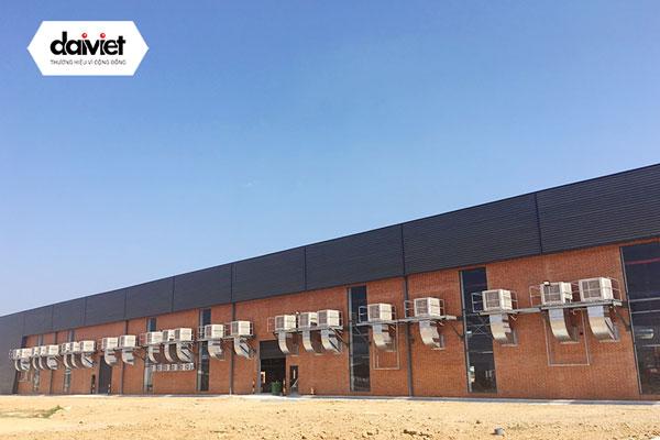 Trúng thầu cung cấp và thi công hệ thống máy làm mát cho công ty TNHH Mensa Industries (khu vực nhà máy)