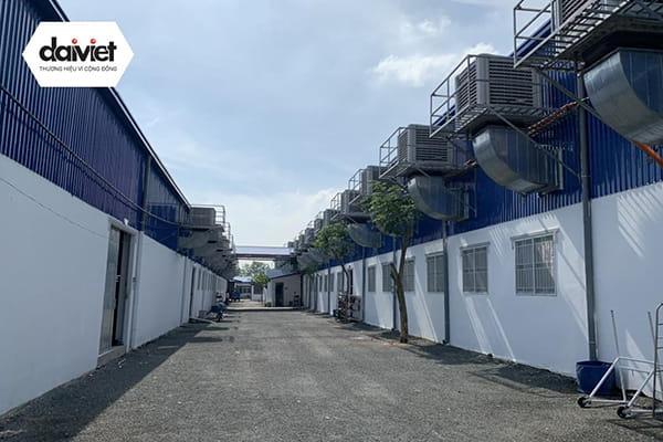 Trúng thầu cung cấp và thi công hệ thống máy làm mát cho công ty CP T-Thai