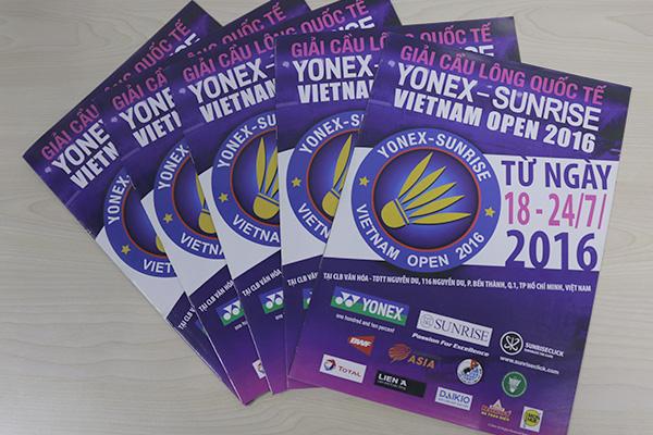 Máy Làm Mát Daikio Tài Trợ Giải Cầu Lông YONEX VIỆT NAM OPEN 2016