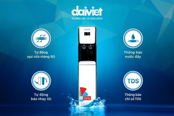 Đánh giá máy lọc nước Daikio, Daikiosan, Nakami dòng cao cấp và nóng lạnh