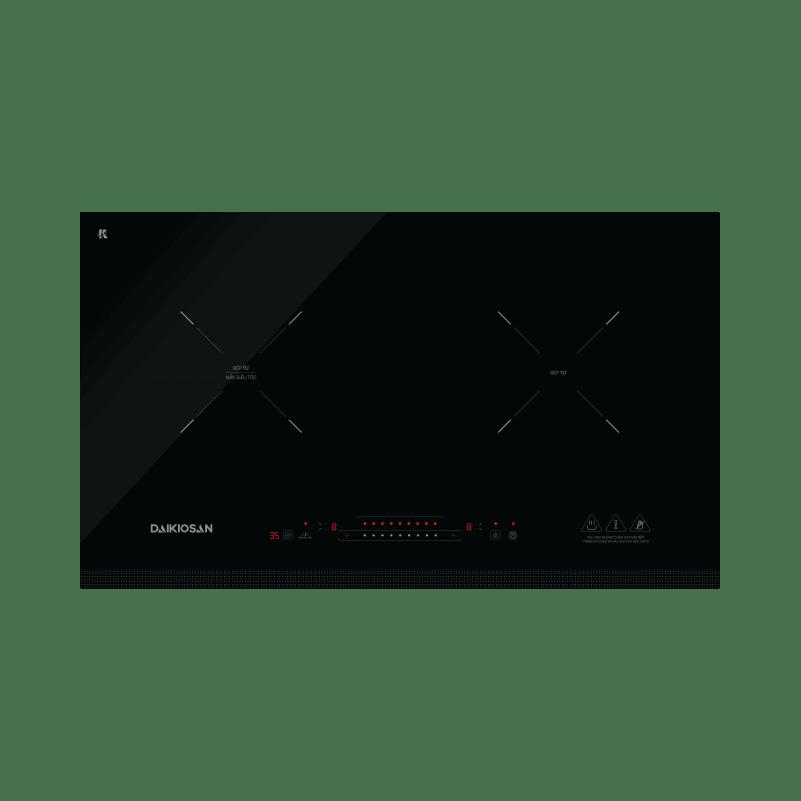 Bếp từ Daikiosan DKT-200001 - 2 vùng nấu lắp âm
