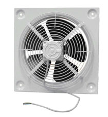 APM series plate mounted axial flow Fans - Domestic Fan