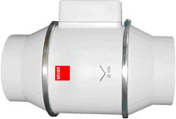 MTD series in-line mixed flow duct fan - Domestic fan