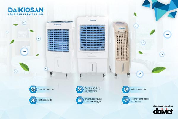Dòng sản phẩm máy làm mát không khí tốt hiện nay