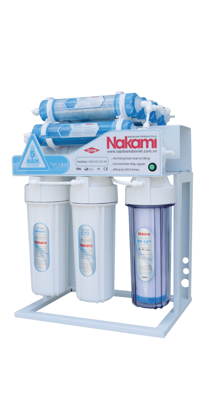 Máy lọc nước RO không vỏ tủ Nakami NKW-34009D