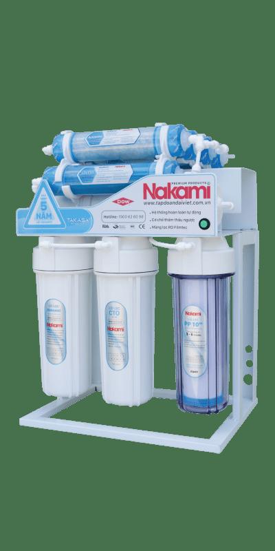 Máy lọc nước RO không vỏ tủ Nakami NKW-34008D
