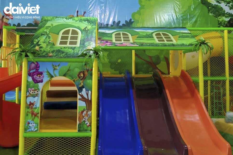Trúng thầu cung cấp và thi công hệ thống máy làm mát công nghiệp cho khu vui chơi vận động Doremon Kid