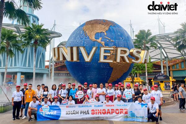 HÀNH TRÌNH KHÁM PHÁ SINGAPORE ĐỢT 2 (6/10/2019 - 9/10/2019)
