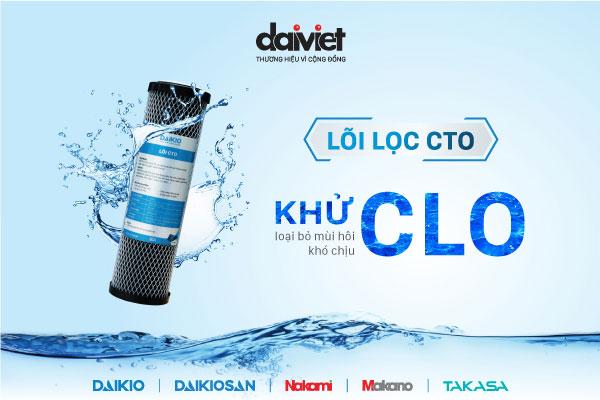 Máy lọc nước có xử lý được Clo trong nước máy?