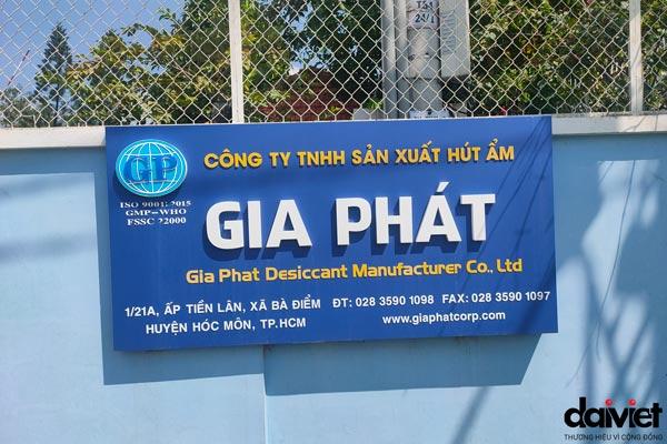 Trúng thầu thi công hệ thống máy làm mát cho công ty tnhh sản xuất hút ẩm Gia Phát
