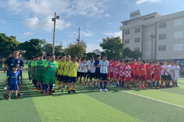 Khởi tranh giải bóng đá truyền thống Đại Việt 2019