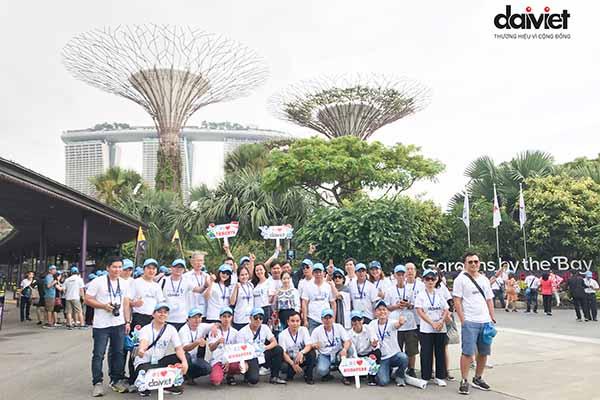 Du lịch Singapore, Hàn Quốc, Nhật Bản cho Quý NPP/Đại lý xuất sắc
