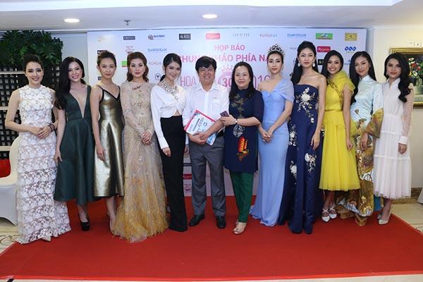 Ban lãnh đạo công ty Đại Việt tham dự họp báo Hoa hậu Việt Nam 2018