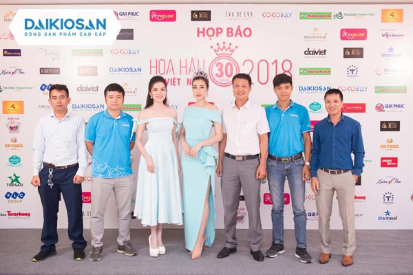 Công ty Đại Việt tham dự họp báo chung khảo phía bắc Hoa hậu Việt Nam 2018
