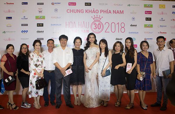 Họp mặt đại lý Daikio/ Nakami tại chung khảo phía Nam Hoa hậu Việt Nam 2018