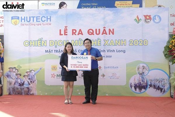 Daikiosan tài trợ Mùa hè xanh 2020 của trường Đại Học Công Nghệ TPHCM