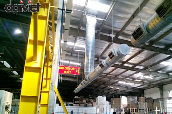 Trúng thầu lắp đặt hệ thống máy làm mát công nghiệp cho công ty Scancom Việt Nam