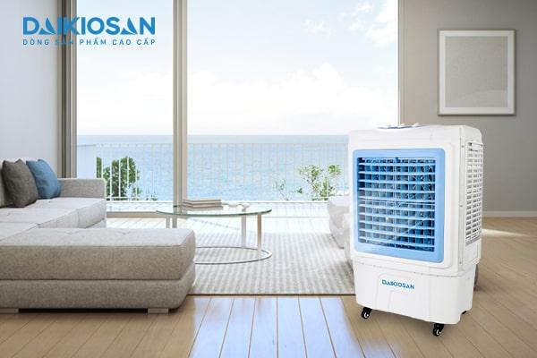 Sử dụng máy làm mát không khí thay thế cho quạt điện