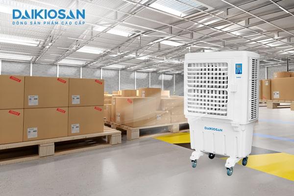 Sử dụng máy làm mát công nghiệp Daikiosan cho nhiều không gian