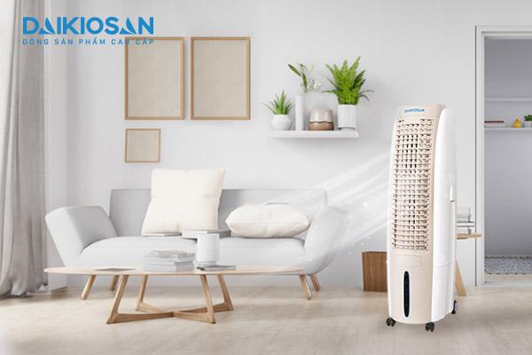 Máy làm mát Daikiosan - giải pháp chống nóng thần tốc