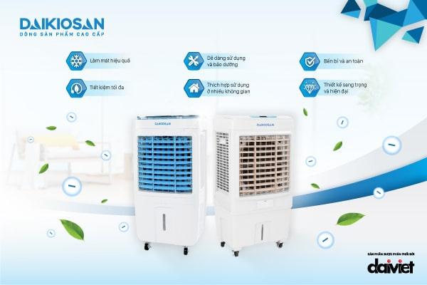 Máy làm mát không khí Daikiosan Makano chất lượng cực bền giá cực tốt