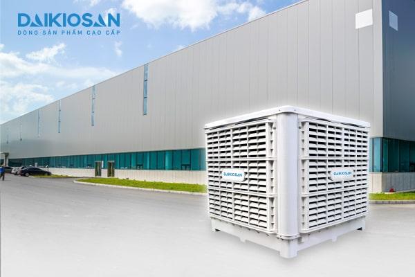 Máy làm mát nhà xưởng Daikiosan / Makano là giải pháp hạ nhiệt độ hiệu quả