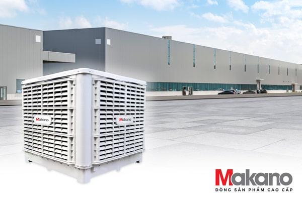Hệ thống máy làm mát nhà xưởng Daikiosan / Makano là giải pháp giúp tiết kiệm chi phí