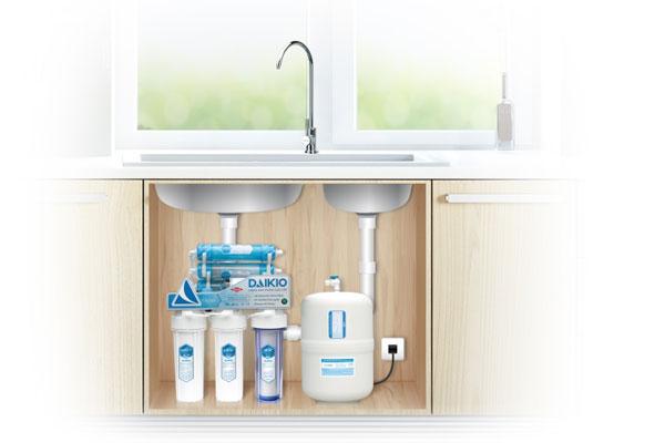 Tiện ích nổi bật của dòng máy lọc nước để gầm - đặt âm tủ bếp