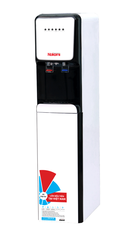Máy lọc nước RO nóng lạnh cao cấp NKW-00008C