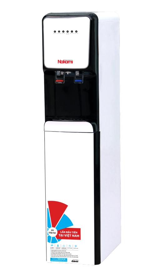 Máy lọc nước RO nóng lạnh cao cấp Nakami NKW-00008C