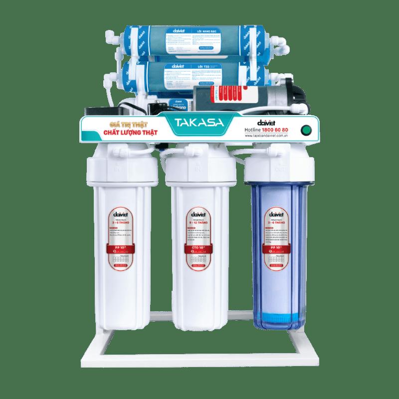Máy lọc nước RO không vỏ tủ có chân đỡ Takasa/Nakami TAW-34006D2