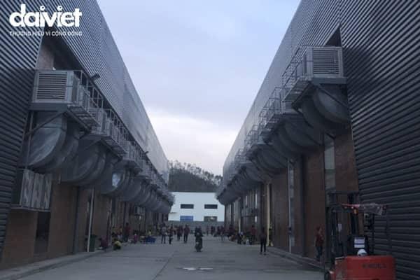 Trúng thầu cung cấp và thi công hệ thống máy làm mát công nghiệp cho Mensa - Quảng Ngãi