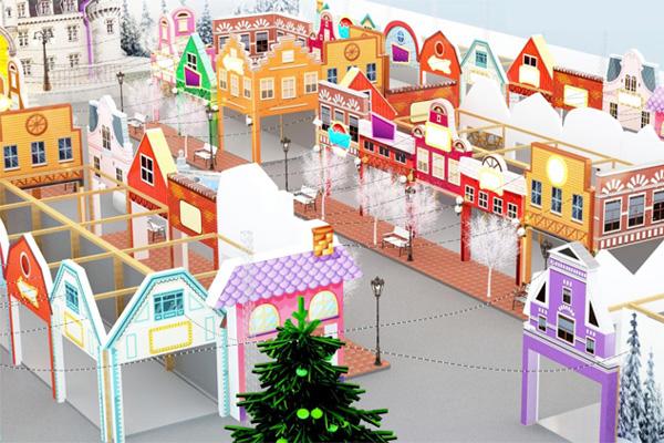 Đại Việt tài trợ máy làm mát cho ngày hội mua sắm Winter Wonderland